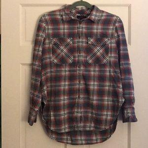 Warm J.Crew flannel shirt